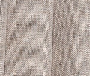 Комплект штор (2 шт*150 см) цвет светлый бежевый 100% блэкаут