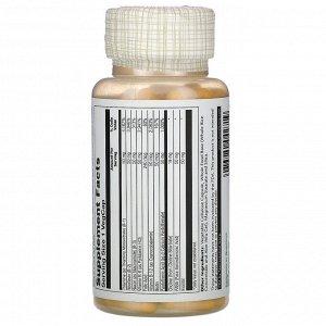 Solaray, B-Complex 50, 100 капсул с оболочкой из ингредиентов растительного происхождения