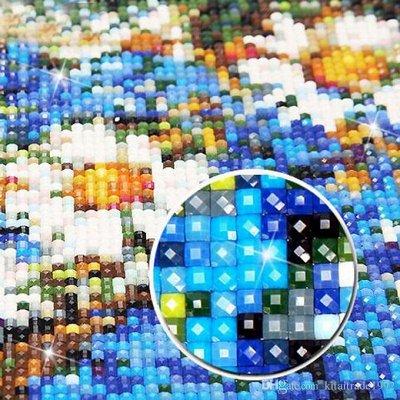🎨 Я - художник! Подарок от души на 8 Марта! — Алмазная мозаика 20 х 30 квадратные стразы — Мозаики и фреска