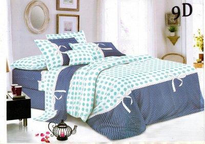 ECOLAN - домашний текстиль, яркие принты! Наматрасники! — Постельное белье (полисатин) - семейный — Семейные комплекты