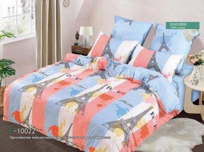 ECOLAN - домашний текстиль, яркие принты! Наматрасники! — Постельное белье (поплин) - семейный — Семейные комплекты
