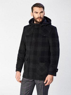 2017 S BLACK CHECK/ Пальто мужское