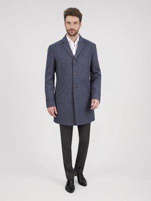 2046У M GRITS NAVY BLUE LUX/Пальто мужское