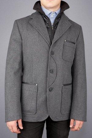 523 MELTON grey/ Пальто (укороченное)