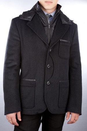 523 MELTON dk.grey/ Ук.Пальто мужское