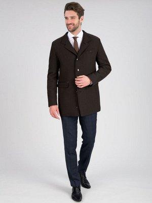 2063У M BRUNO DK BROWN/Пальто мужское