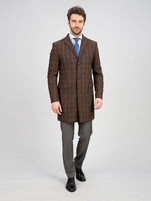 2053У-1 S RICCIONE BROWN LUX/ Пальто мужское