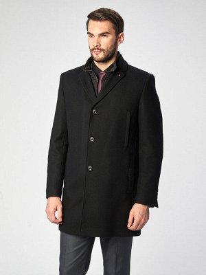 5046-4M GALEST BLACK/Пальто мужское