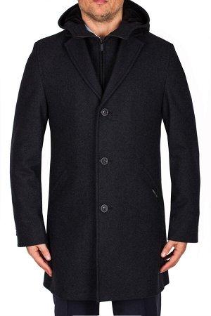 5030 GERONIMO BLACK/ Пальто мужское