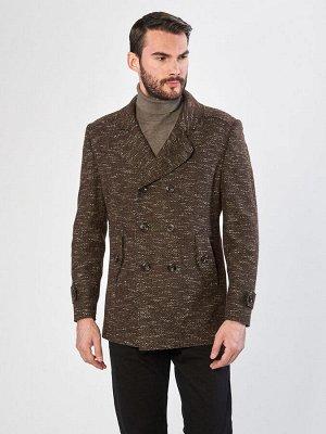5051 M MARRONE/ Пальто мужское