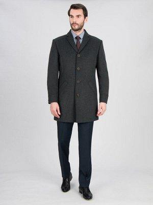 2046У M POINT DK GREY/Пальто мужское