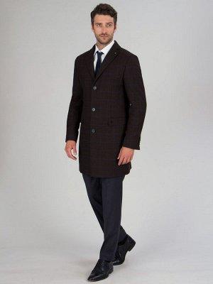 2053У-1 S VOLANIA BROWN LUX/ Пальто мужское