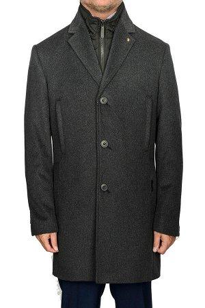 5046-4M DK GREY/Пальто мужское