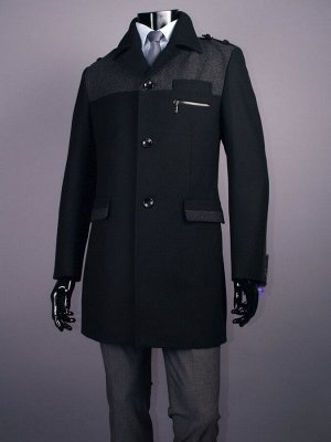 0123 MELTON/ Пальто мужское