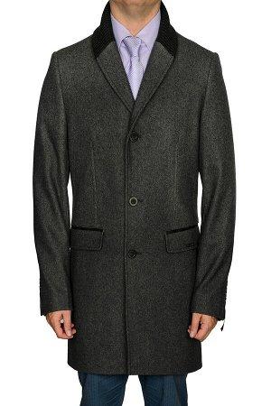 5033 M MELTON GREY/ Пальто мужское