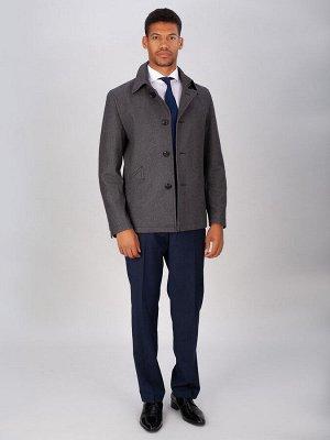 5023 S MELTON GREY/ Пальто мужское