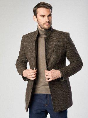 2063-1 M FRIENDLY BROWN/Пальто мужское