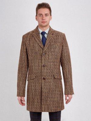 2062У M BLACK BROWN/ Пальто мужское