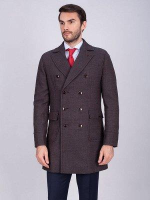2066У S CORN BLACK BROWN/Пальто мужское