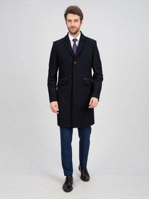 2048У S MELTON DK NAVY/ Пальто мужское