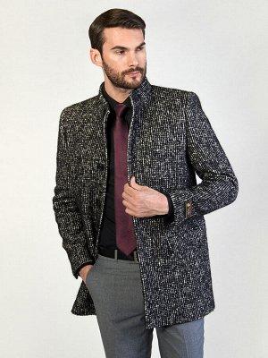 5022 M MADLY BLACK/ Пальто мужское