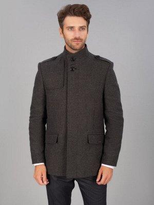 0314-2 S CLOTH DK GREY/ Пальто мужское