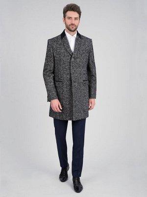2064У S CISMON BLACK GREY/ Пальто мужское