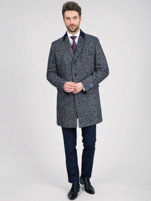 2064У S CISMON NAVY/ Пальто мужское