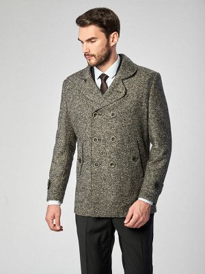 5051 M ALA GREY/ Пальто мужское