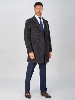 5039 M STEVEN GREY-CHEK/ Пальто мужское