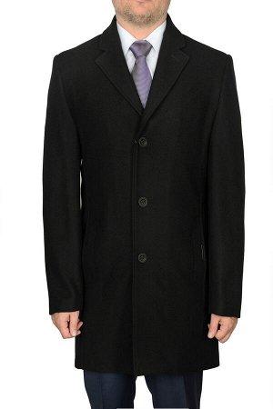 5026 MELTON BLACK/ Пальто мужское