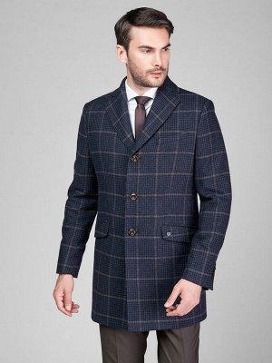 2062 M ALFA CHECK/ Пальто мужское
