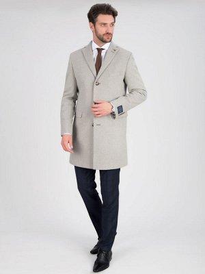 2053У-1 S NUORO LT GREY/ Пальто мужское