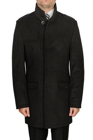 0314У M BASIS BLACK/ Пальто мужское