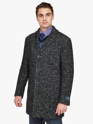 2065У M BARGELLO BLACK/Пальто мужское