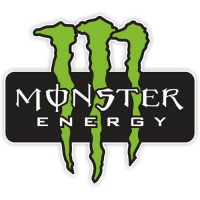 🌟 Яркие наклейки! Обновляем квартиру! Украшаем авто — Авто. Monster Energy — Аксессуары