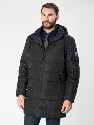 4077SP M OLIMP BLACK L/ Куртка мужская (пуховик)