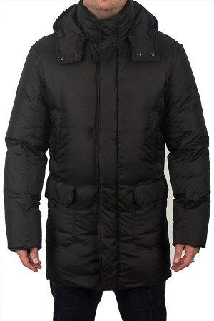 4020П black / Куртка-пуховик мужской