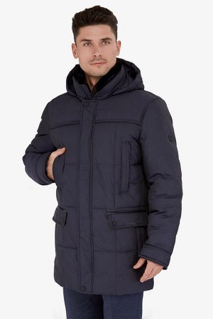 4016 СП M ROBSON GRIT CHARCOAL/ Куртка мужская (пуховик)