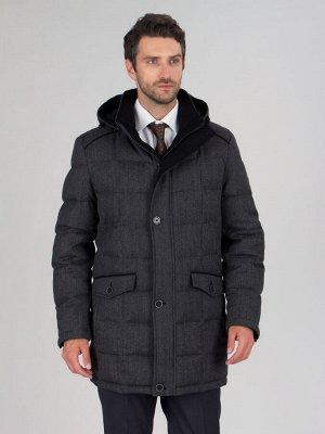 4047-1ПШ M FIRS GREY/Куртка мужская (пуховик)
