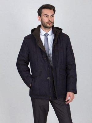 4084SPW M NAVY BROWN/Куртка мужская (пуховик)