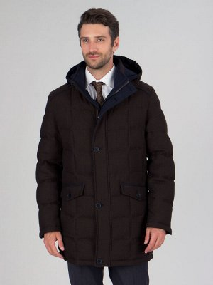 4047-1ПШ M FIRS DK BROWN/Куртка мужская (пуховик)