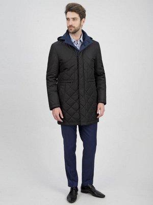 3049 M KEVIN BLACK / Куртка мужская (плащ)