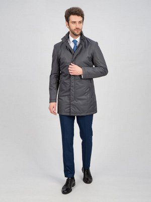 3015 M FRANKI GREY / Куртка мужская (плащ)