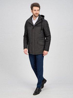 3009M PAUL BLACK RIB GREY/ Куртка мужская