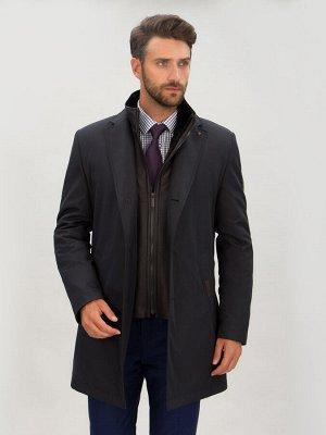 4066-1 S LEMAN DK NAVY BROWN/ Куртка мужская (плащ)