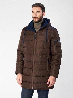4077SP M OLIMP CHOCO/Куртка мужская (пуховик)