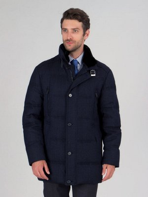 4076 ПШ M GREG DK NAVY/Куртка мужская (пуховик)