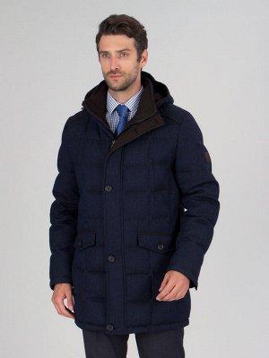 4047-1ПШ M FIRS DK NAVY/Куртка мужская (пуховик)