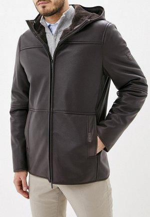 3022 M CARVEN BROWN/Куртка мужская (дубленка)